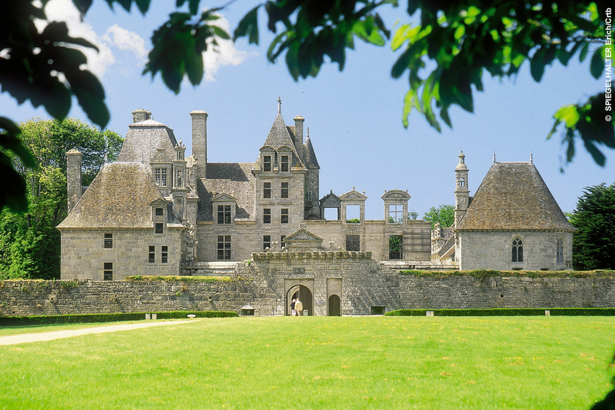 Le Château de Kerjean à Saint-Vougay