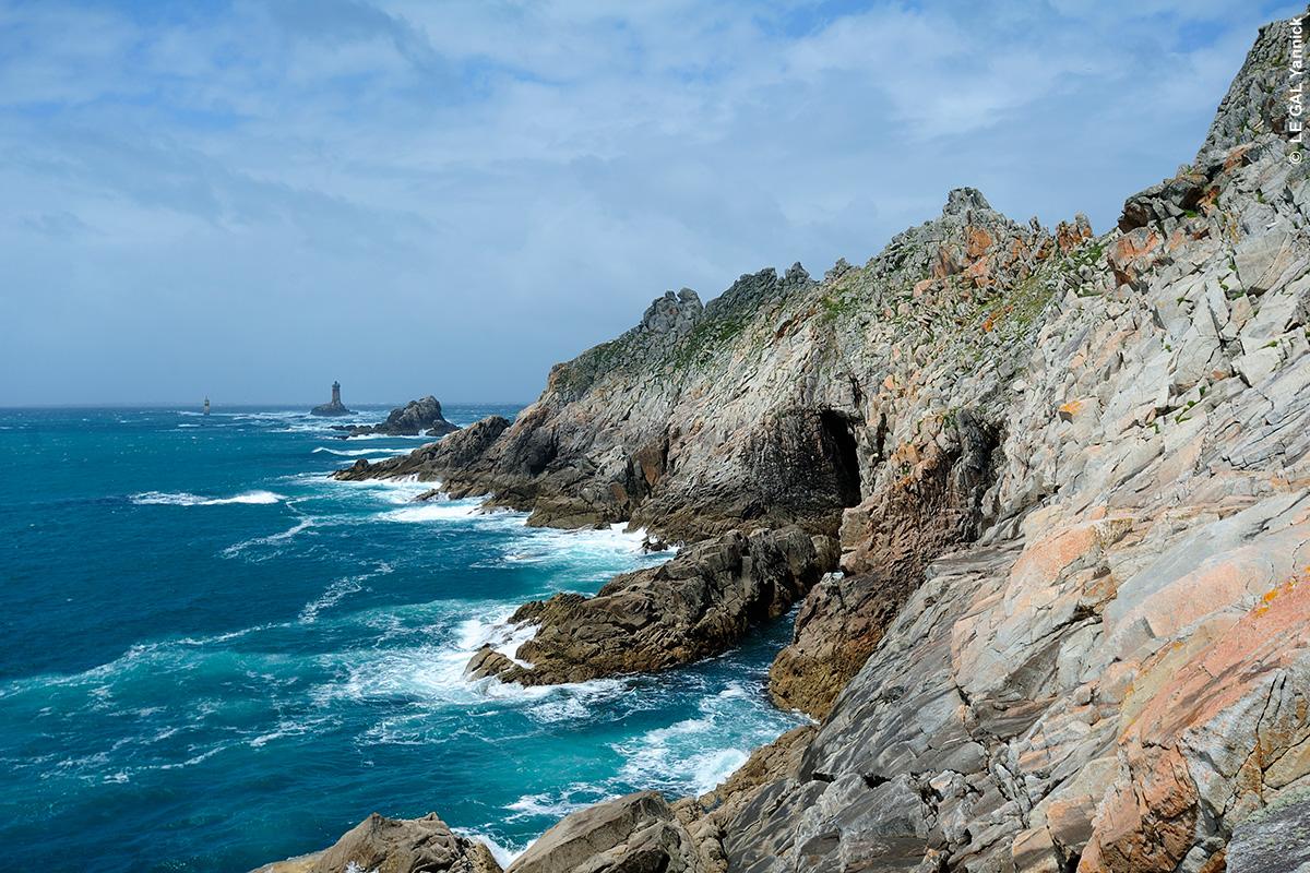 Pointe du Raz en sud-Finistère