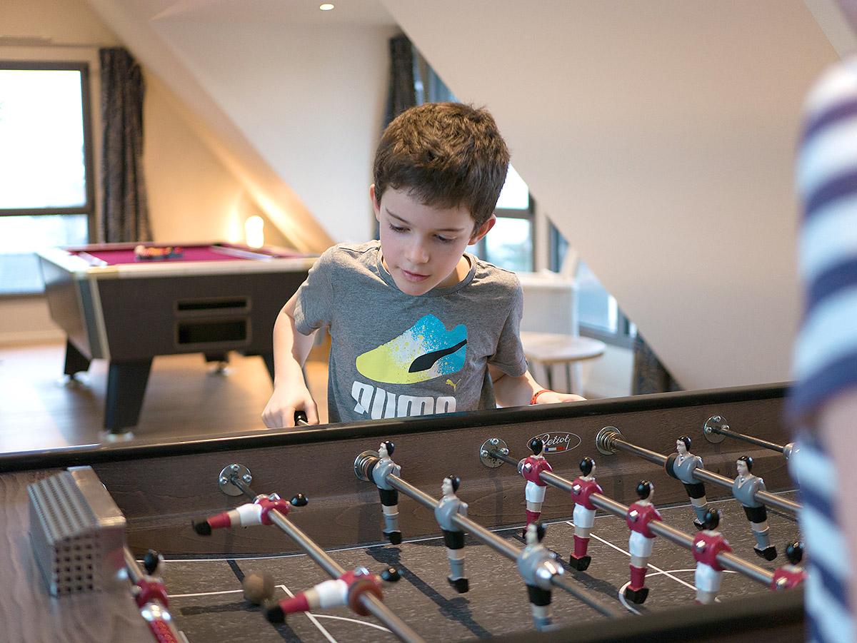 Villa avec salle de jeux (babyfoot...)