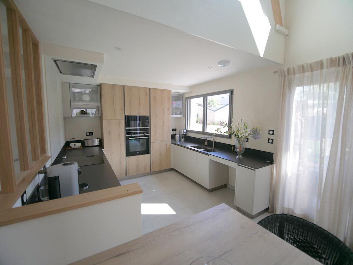 Une cuisine avec espace et confort PMR
